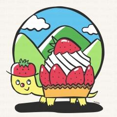 WMケーキ亀