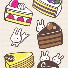 WMケーキいっぱい